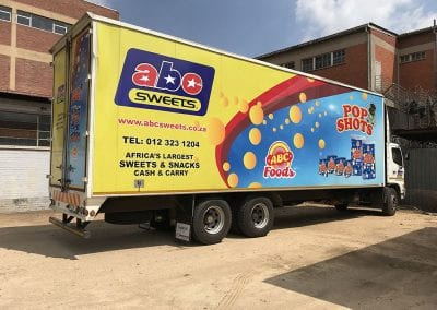 Vehicle Branding Wraps Advertising Vinyl Pretoria 02
