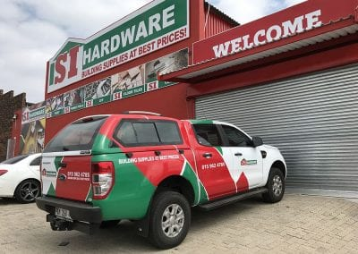 Vehicle Branding Wraps Advertising Vinyl Pretoria 10