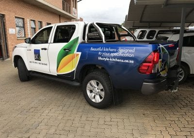 Vehicle Branding Wraps Advertising Vinyl Pretoria 11