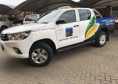Vehicle Branding Wraps Advertising Vinyl Pretoria 12