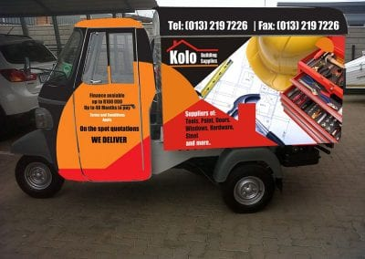 Vehicle Branding Wraps Advertising Vinyl Pretoria 18