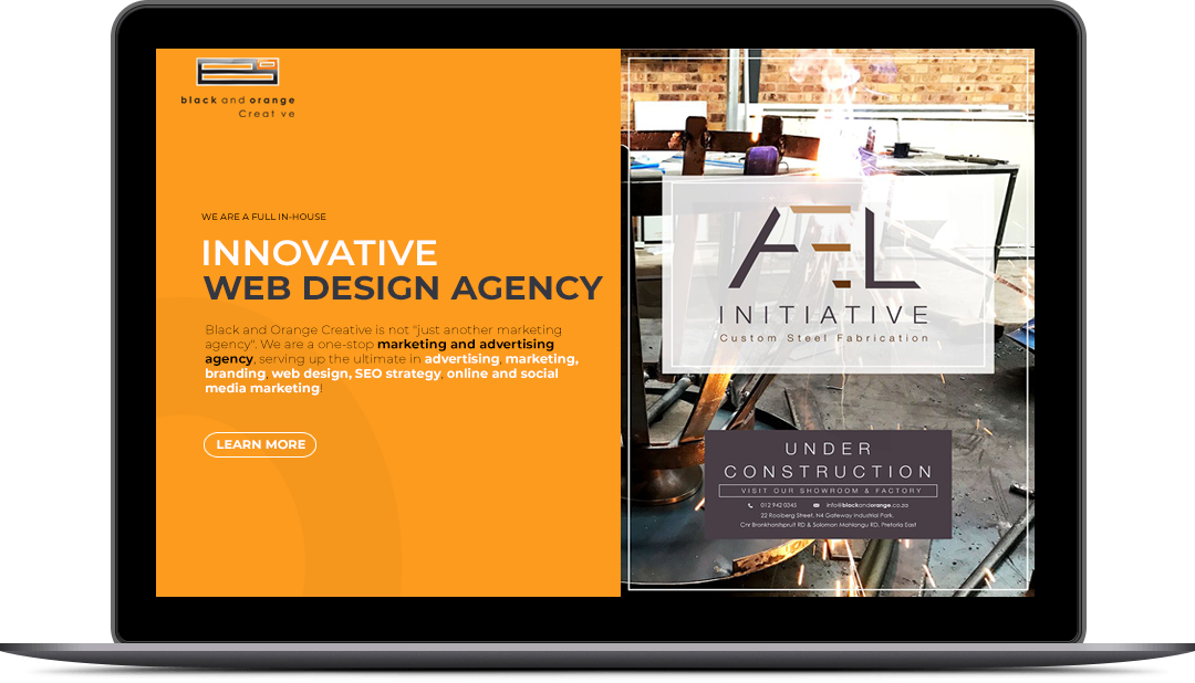 Website Design & Development, Pretoria